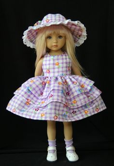 """Spring Frills OOAK Outfit for Effner 13"""" Little Darling ~ by Glorias Garden"""