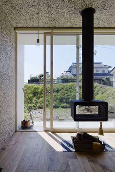 Résultats de recherche d'images pour «suspended pivoting wood fireplace»
