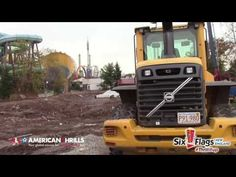 The Joker @ Six Flags New England 2016 Construction Report in HD