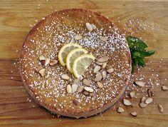 Limoncello Almond Cake