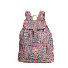 Oilily Fun Paisley Folding Backpack | DANZAR