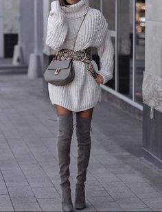 Free Crochet Clothes Idea- Crochet Dresses, Trousers And Casual Dresses 2019 - Page 7 of 41 - eeasyknitting. com - Casual Winter Outfits Casual Winter Outfits, Winter Fashion Outfits, Look Fashion, Stylish Outfits, Autumn Winter Fashion, Cute Outfits, Womens Fashion, Fashion 2018, Winter Fashion For Teen Girls