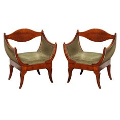 1stdibs | Pair of 19th Century Russian Armchairs