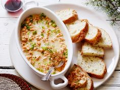 New Orleans Barbecue Shrimp Dip : This super-flavorful dip is inspired by the spicy shrimp dishes of New Orleans. The sour cream and cream cheese base creates tangy flavor and creamy texture.