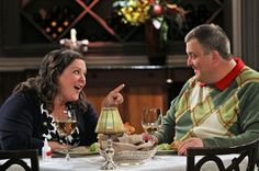 Mike and Molly: on their first date where Molly had too much alcohol mixed with cold medicine she took earlier :P