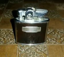 Vintage 1950`S VINTAGE BROWN ENAMEL RONSON STANDARD CIGARETTE  LIGHTER