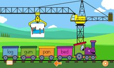Free SMART Board Games - CVC Words - Image Sort