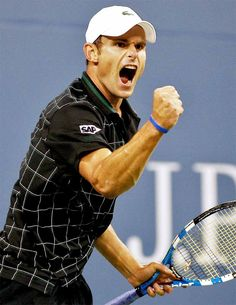 Andy Roddick. tennis will never be the same I got my first racquet like this guys. hope he finishes strong.
