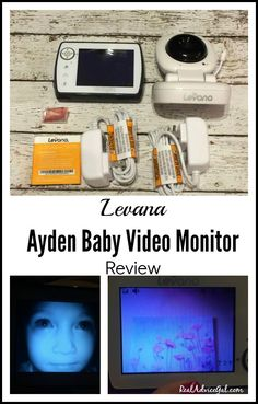 """""""Do More Knowing Your Child Is Safe"""". Check out this Levana Ayden Baby Video Monitor Review #DoMore #ad"""