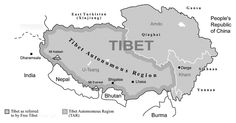 UNITED STATES OPPOSES TIBET'S MILITARY OCCUPATION WHILE THE DALAI LAMA IS FIGHTING THE PROBLEM WITH WISDOM AND COMPASSION AS HIS WEAPONS.