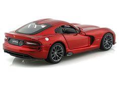 2013 Dodge Viper SRT GTS 1/24 Metallic Red