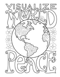 Peace Love Coloring Book Thaneeya McArdle 9781574219630 Books