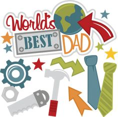 Worlds Best Dad SVG files for scrapbooking dad svg files fathers day svg cut files free svgs