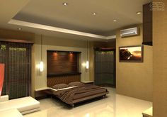 Magnificent Ultra Modern Ceiling Design In Your Bedroom If you are planning to renovate your bedroom interior then you should also decide a good ceiling design for your bedroom. Here are the best modern bedroom ceiling design for you. Modern Bedroom Lighting, Home Lighting Design, Lighting Ideas, Interior Lighting, Ceiling Lighting, Ceiling Ideas, House Lighting, Contemporary Bedroom, Table Lighting