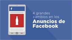 A principios de mes, Facebook anunció algunos cambios que llevará a cabo en sus anuncios. ¿Conoces cuáles son? Descúbrelos en la nueva entrada en el blog. #TúEstásOn