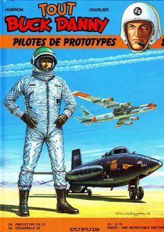BD: Tout Buck Danny - Pilotes de prototypes - Hubinon
