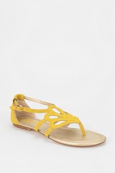 I really want these! $80 from UrbanOutfitters.com > Seychelles Primrose Thong Sandal