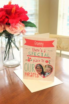 Beautiful Mother's Day card for Grammy by Fun with the Fullwoods