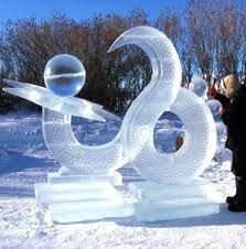Coolest ice sculpture. Follow me on.fb.me/Po8uIh
