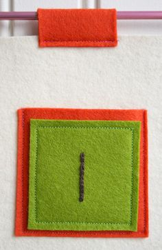 Embroidered Felt AdventCalendar - Knitting Crochet Sewing Crafts Patterns and Ideas! - the purl bee