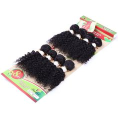 8Pcs/Lot Vogue Black Fluffy Jerry Curly 90 Percent Human Hair Blended Synthetic Women's Hair Extension #>=#>=#>=#>=#> Click on the pin to check out discount price, color, size, shipping, etc. Save and like it!