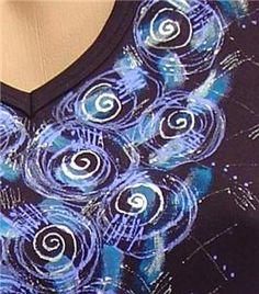 malování na textil pro začátečníky | Davona výtvarné návody