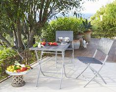 table balcon accrocher en verre tremp chaise pliante. Black Bedroom Furniture Sets. Home Design Ideas