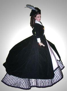 Anna Karenina  Scarlett Ohara Barbie doll as Anna Karenina Vivien Leigh