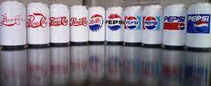 Logos Pepsi en latas