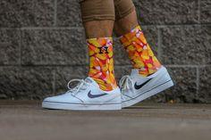 Candy Corn Socks | Custom Designed Socks