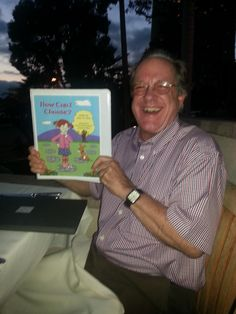 Gracie and her faithful dog, ENUF, go to Hollywood!  My cousin Peter Wingerd - seen here is a teacher in Hollywood, CA.  He is going to make sure the school library has a copy of HOW CAN I CHOOSE!  Yay!  A book about God in a Hollywood, CA, library!  AWESOME!