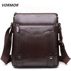 VORMOR Messenger Bag, VORMOR Brand Men's Briefcase, Shoulder Crossbody Bag B004 | Snaky Buffalo