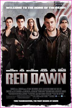 """Red Dawn"" Movie Trailer With Chris Hemsworth And Josh Hutcherson"