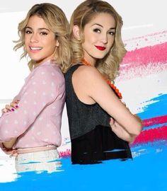 Violetta e Ludmilla, de inimigas para loiras!