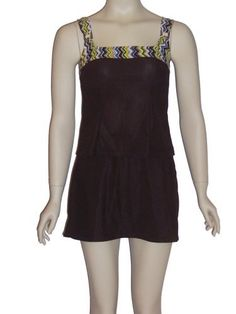 It Figures C cup & Up Brown Tankini swimsuit 8 (8) It Figures. $39.95. Save 62%!