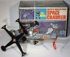 Vtg 1966 Mattel Major Matt Mason Space Crawler in Box Toy Works Does Not Apply | eBay