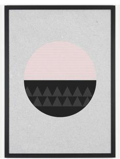Seventy Tree Circular Poster (30x40cm)