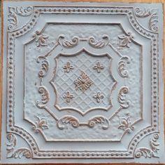 Decorative Tin Backsplash Tiles Inspiration Tin Ceiling Tile Can Be Used As Backsplashes  Many Different Inspiration Design