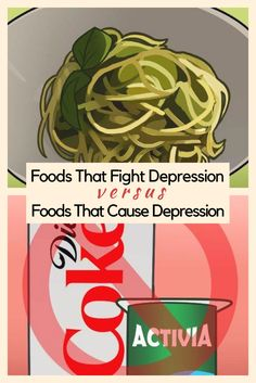 Foods that fight depression vs. Foods that cause depression