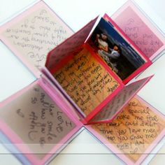 Exploding Love box instead of a birthday card!