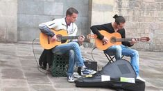Barcelona street music , Pharaon Spanish Guitar