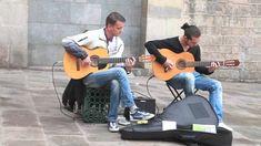 Barcelona street music , Pharaon Spanish Guitar