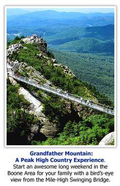 Grandfather Mountain - one of my favorite places in North Carolina