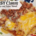 Easy Cheesy Chicken and Salsa Dinner