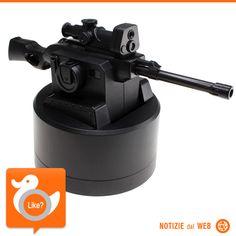 COLLEGHI FASTIDIOSI??  Ecco il fucile che spara pallini di gomma da lanciare a chi vi urta, per esempio, sul lavoro... crudele? Forse, ma comunque divertente!!!  http://www.gizmodo.it/2013/08/29/il-fucile-da-cecchino-usb-per-convincere-i-colleghi-a-lavorare-un-po-di-piu.html