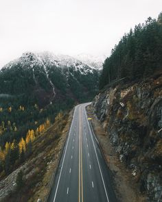 Everyone keeps telling me they can't find snow so here's the road you take. #ModernVoyage by robstrok