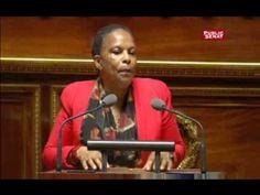 La Politique Mariage pour tous : discours de Christiane Taubira au Sénat - http://pouvoirpolitique.com/mariage-pour-tous-discours-de-christiane-taubira-au-senat/