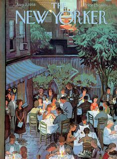 New Yorker August 1958 Painting by Arthur GetzYou can find The new yorker and more on our website.New Yorker August 1958 Painting by Arthur Getz The New Yorker, New Yorker Covers, Capas New Yorker, Cover Art, Graphic Design Magazine, Magazine Design, Vogue Vintage, Design Poster, Studyblr