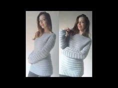Parte 1 Casaco em Croche 3 em 1 / Crochet coat square 3 in 1 - YouTube