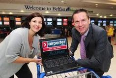 Airporter Derry-Londonderry sponsors of the WiFi in the Business lounge at Belfast International Airport